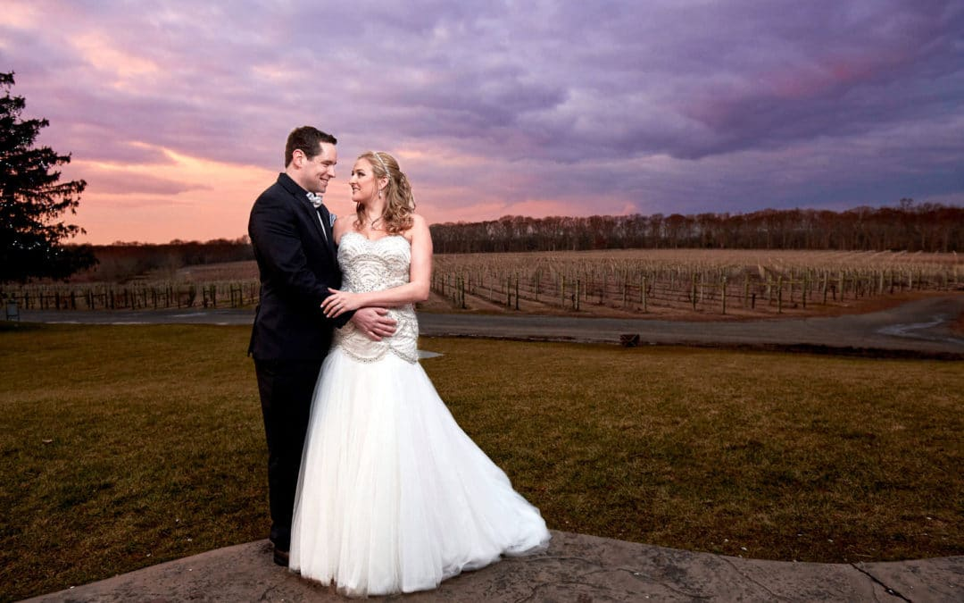 Laurita Winery New Years Eve Wedding | Lindsey + Jon