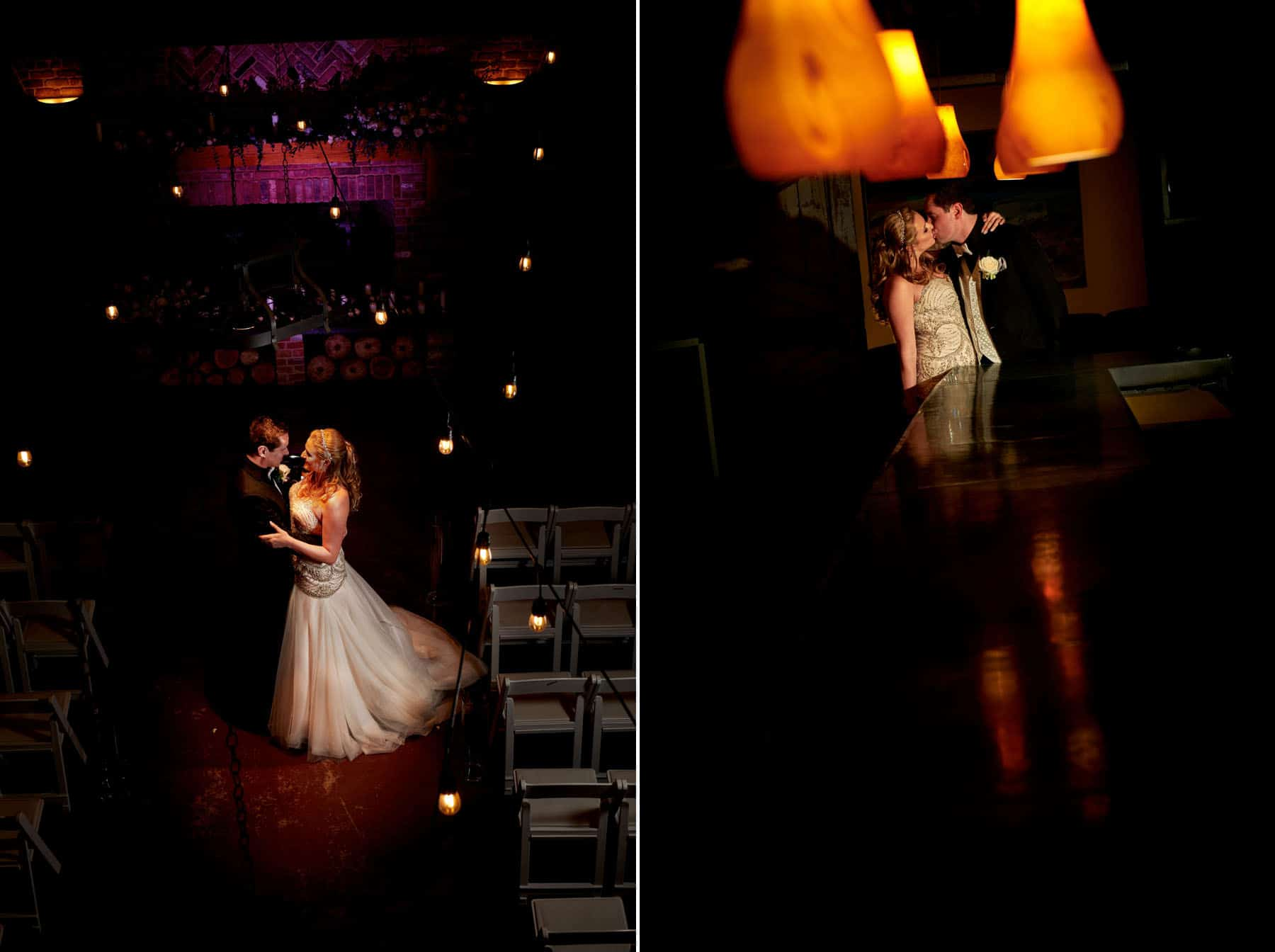 bride and groom photos at laurita winery