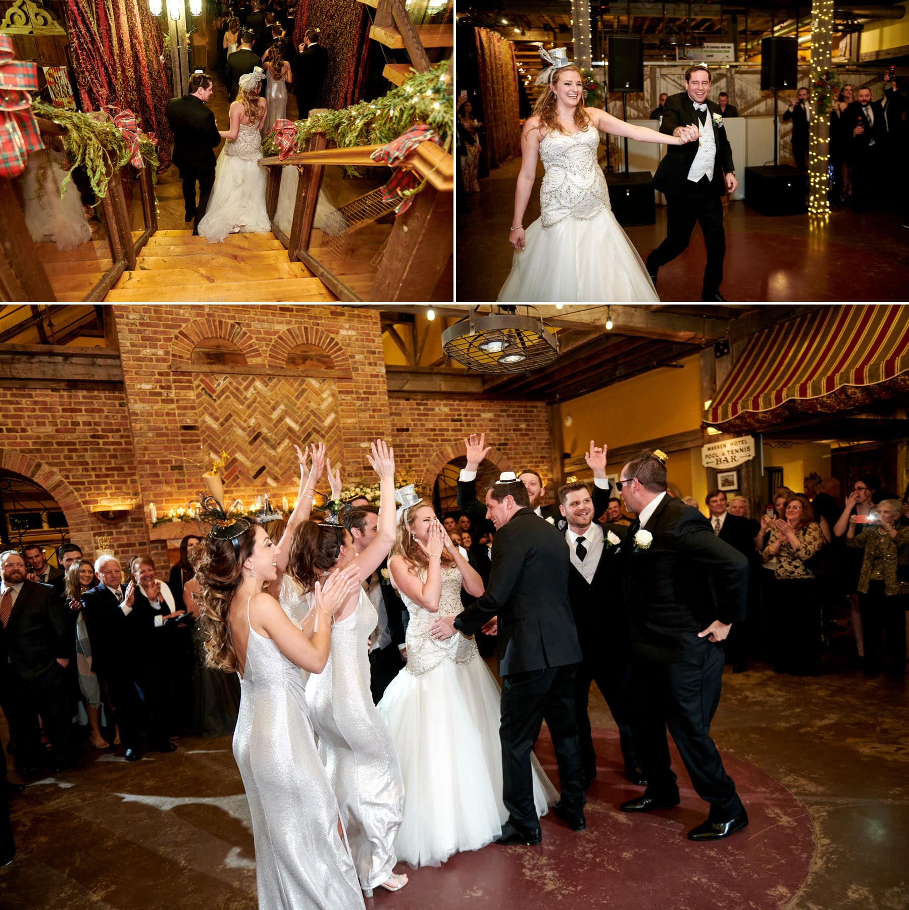 laurita winery new years eve wedding photos