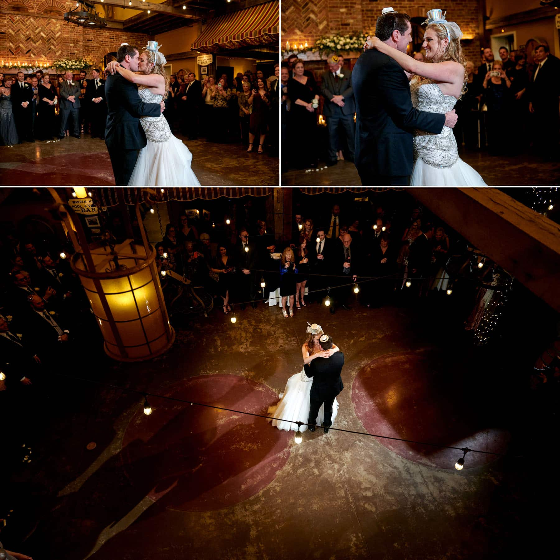 first dance wedding photos at laurita winery