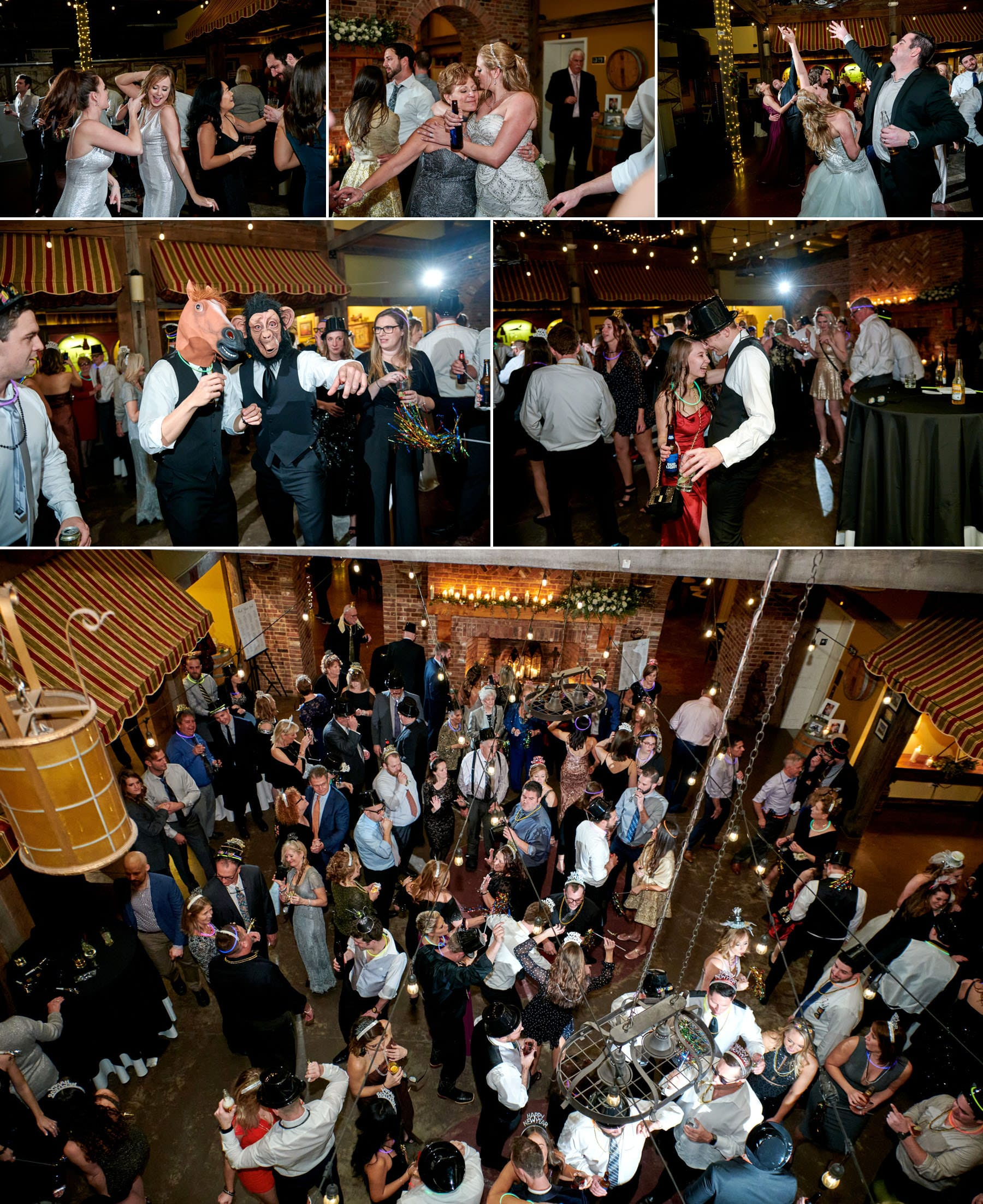 wedding dancing photos at laurita winery