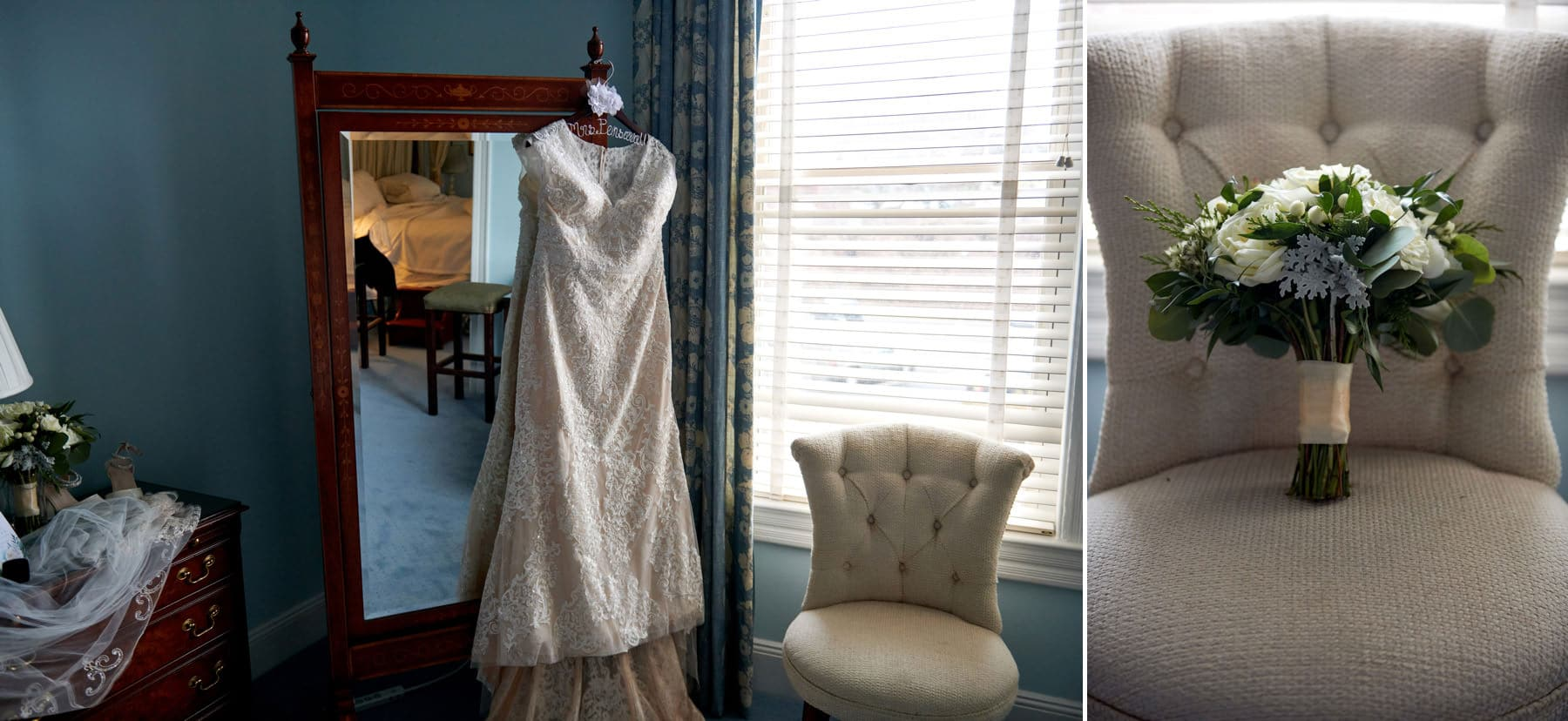 bernards inn bridal suite photos