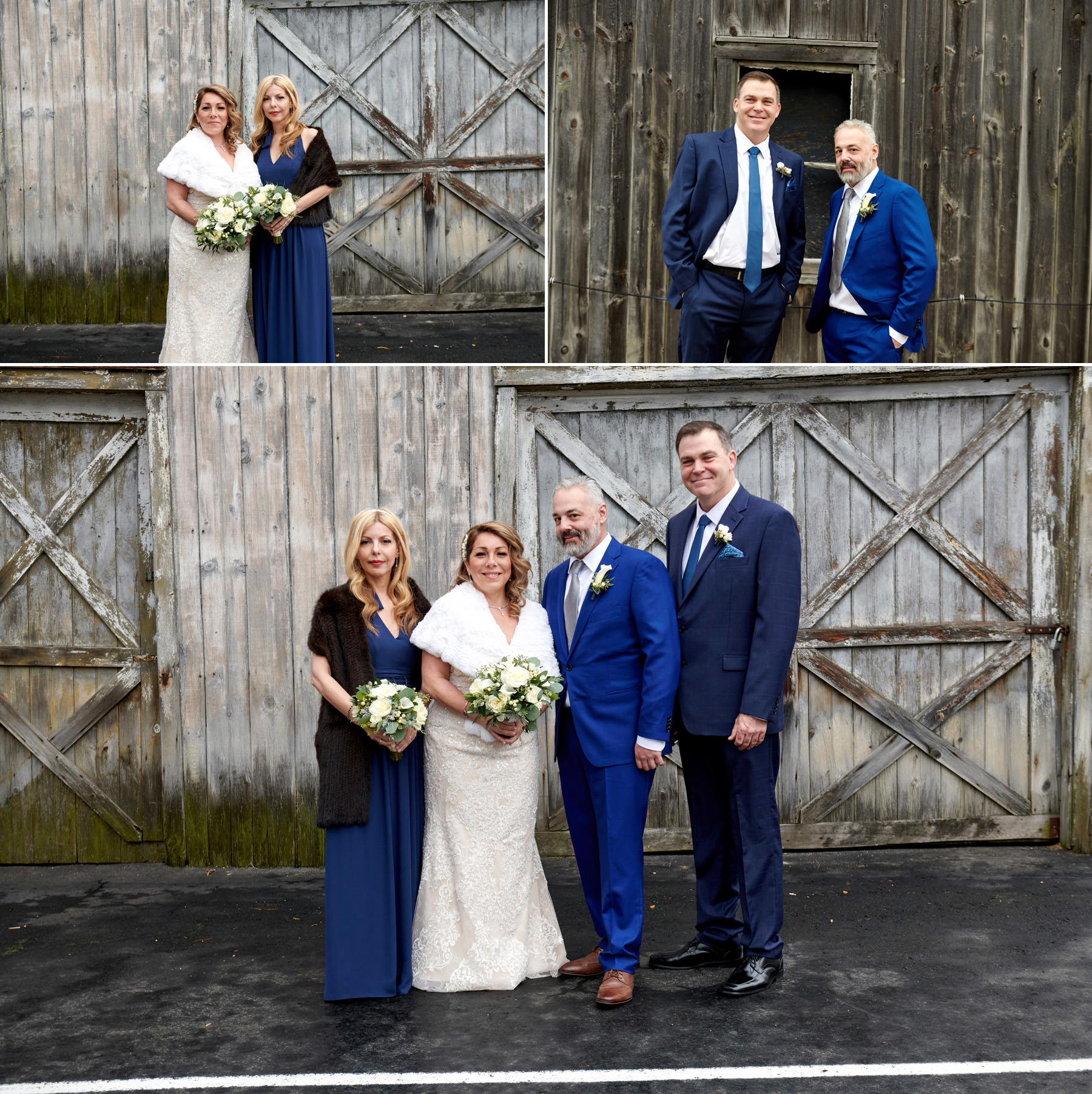 wedding photos at the barn at the bernards inn