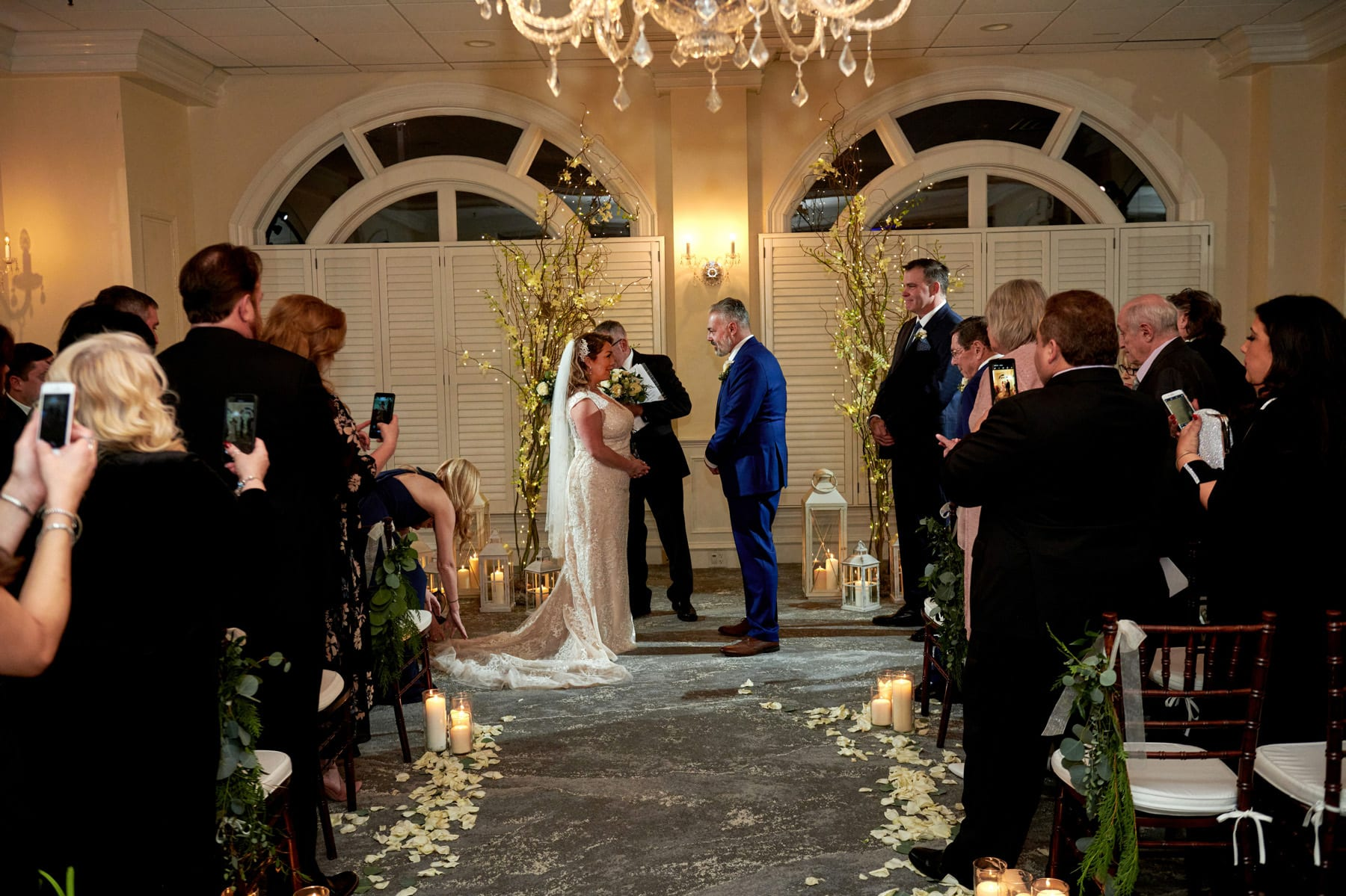 bernards inn wedding ceremony photo