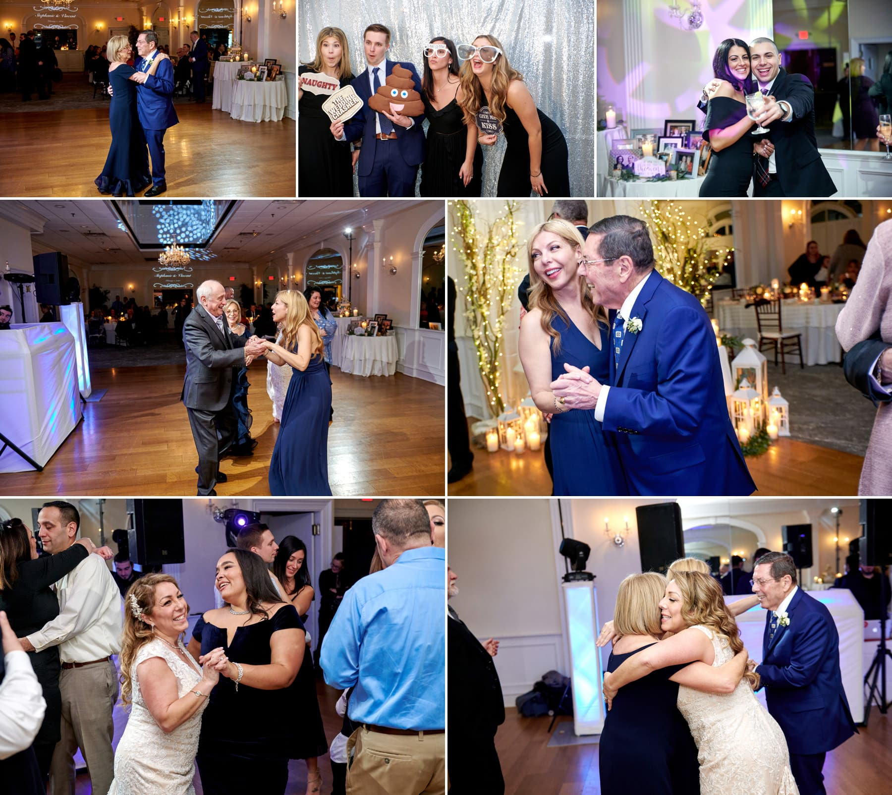 bernards inn wedding party photos