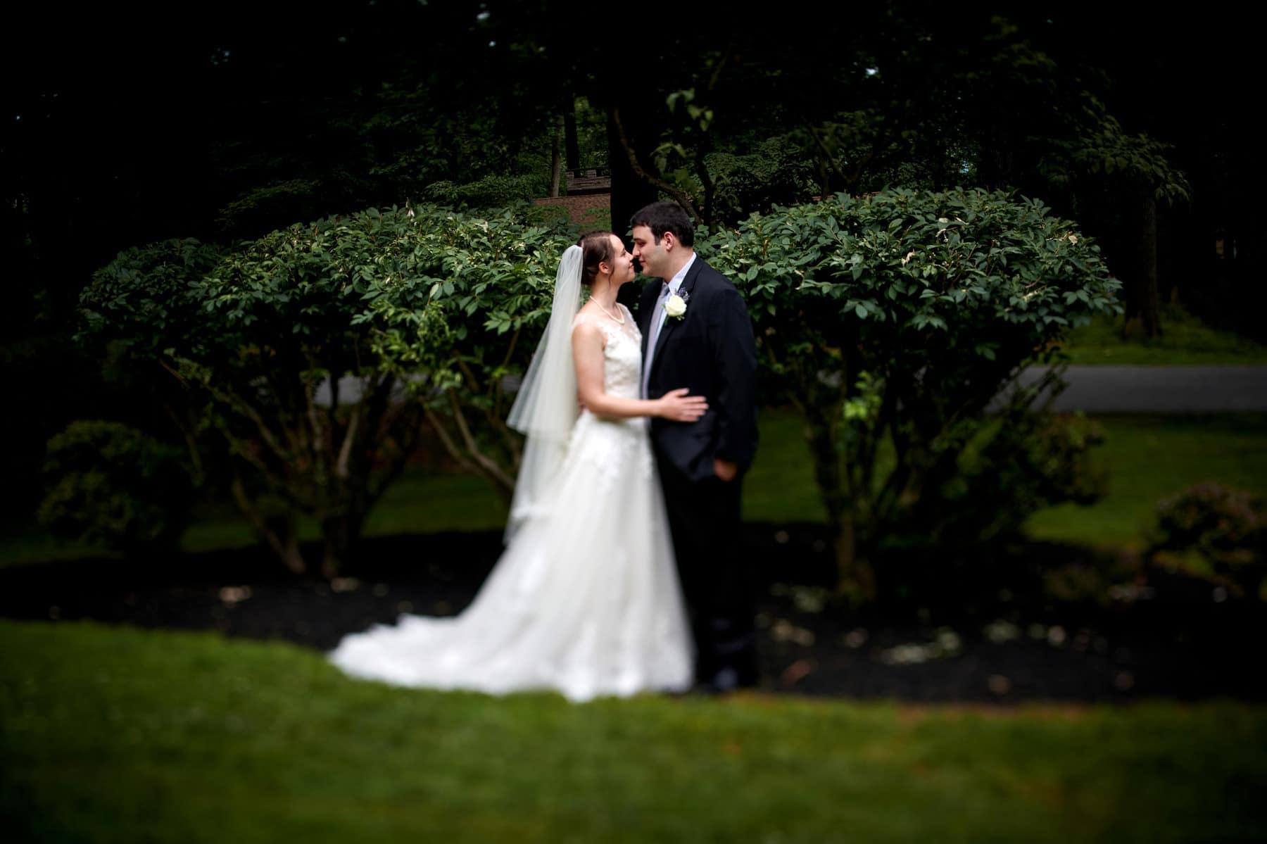 NJ backyard wedding photo