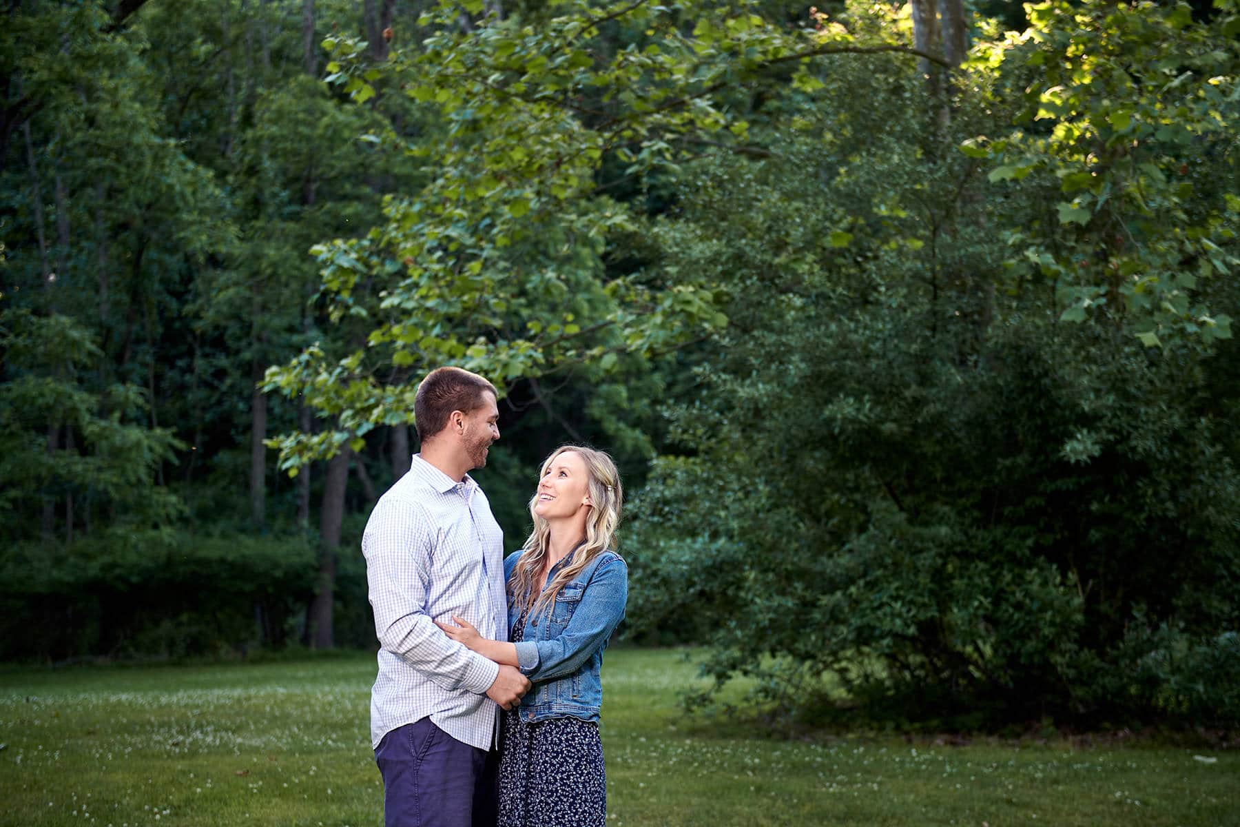 hunterdon engagement photo