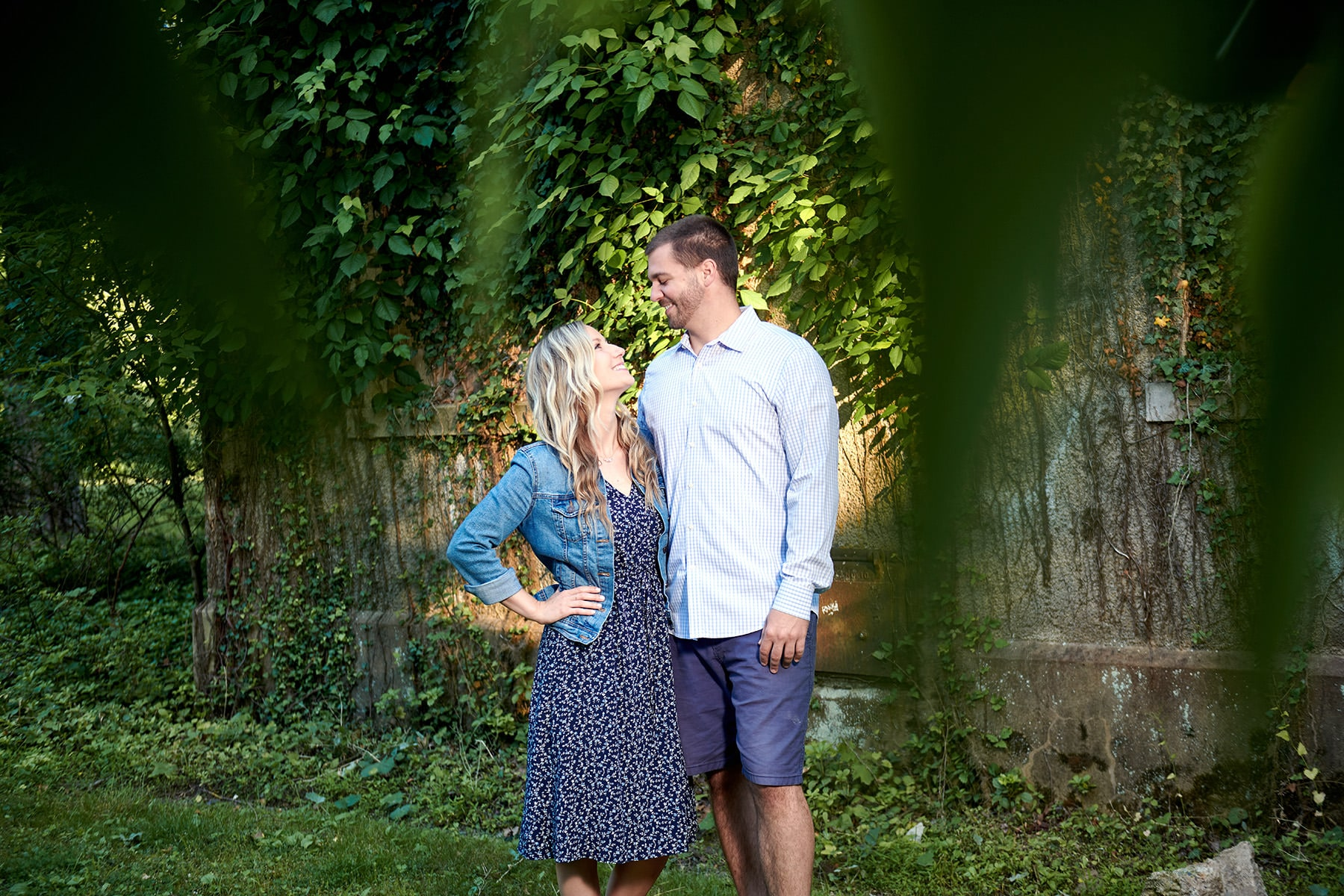 engagement photo in hunterdon NJ