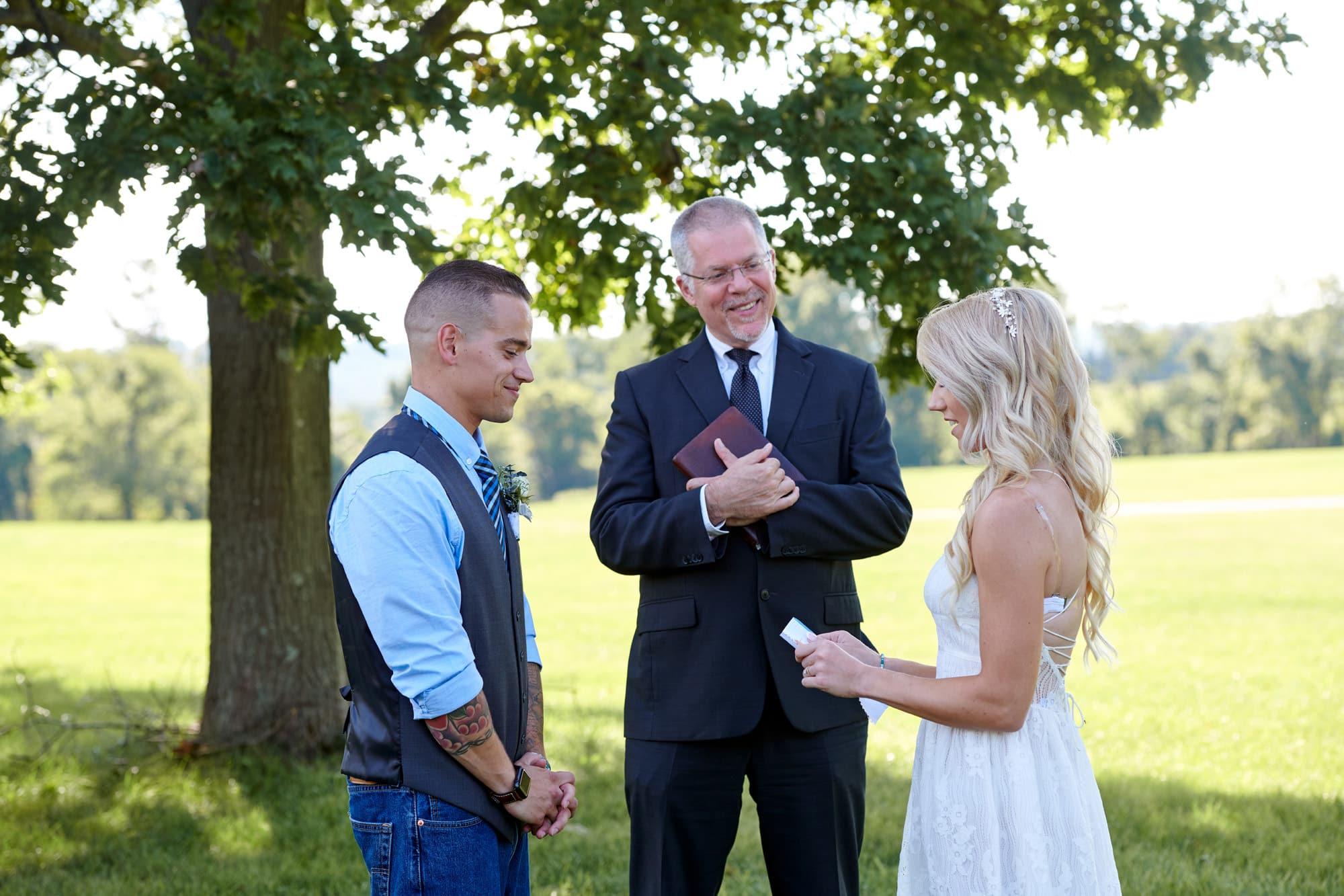 hunterdon nj elopement wedding