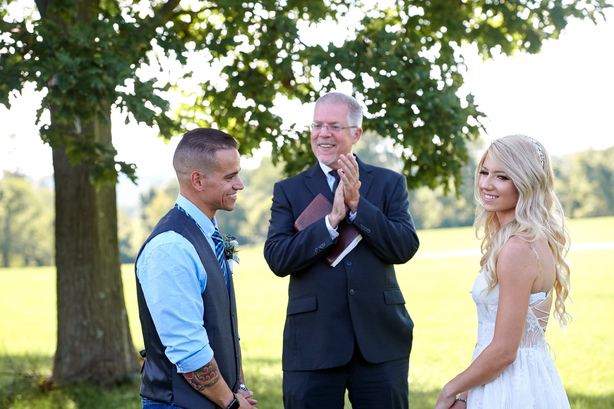 wedding elopement in hunterdon county nj
