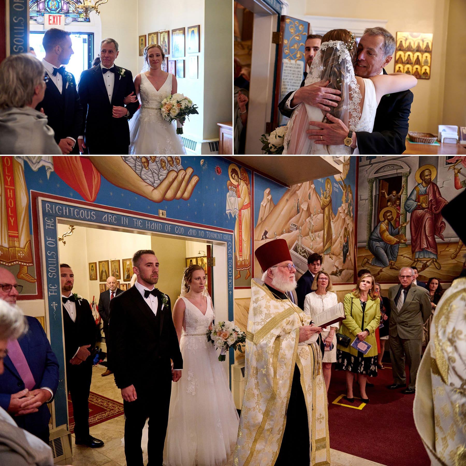 wedding ceremony photos orthodox