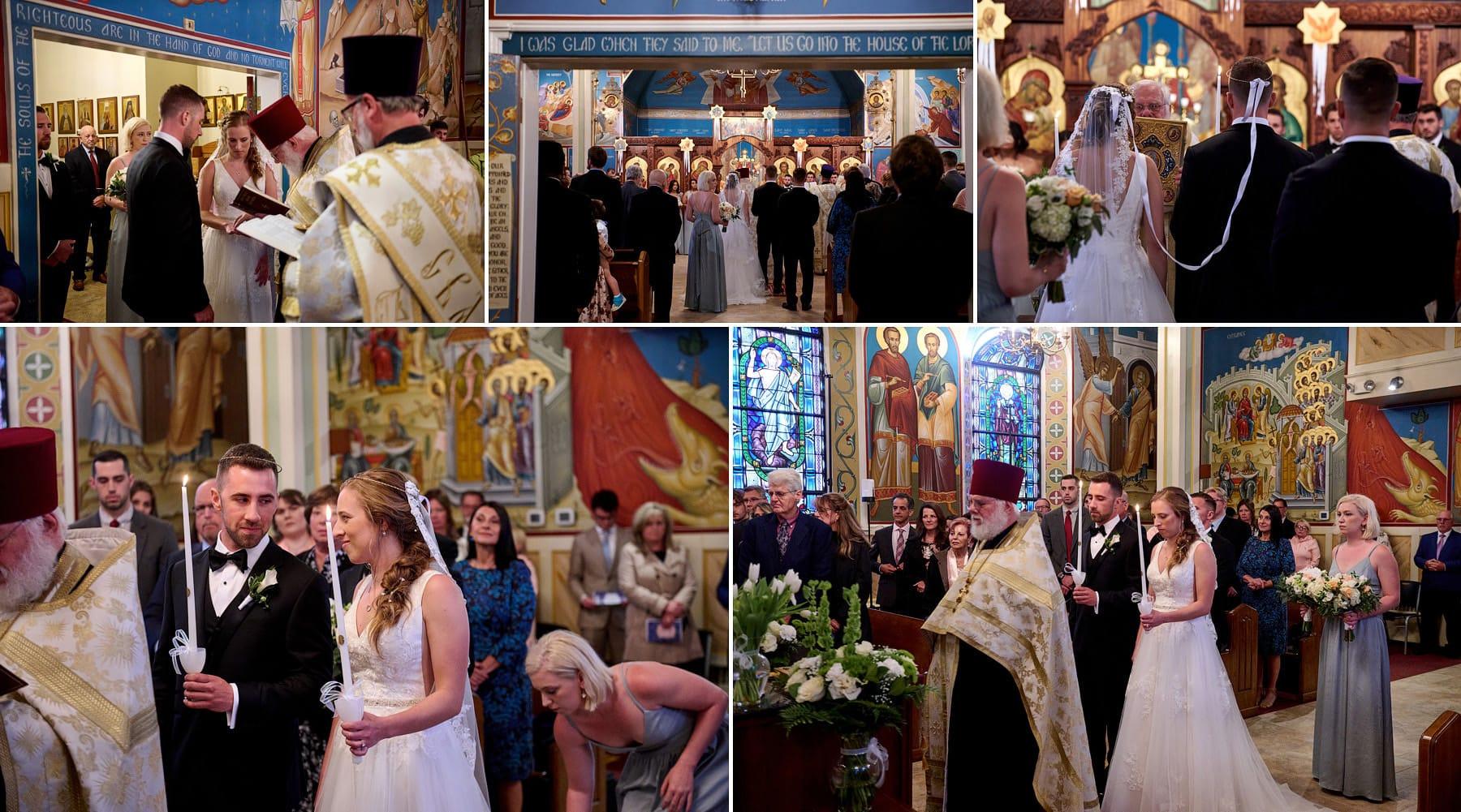 orthodox wedding ceremony photo