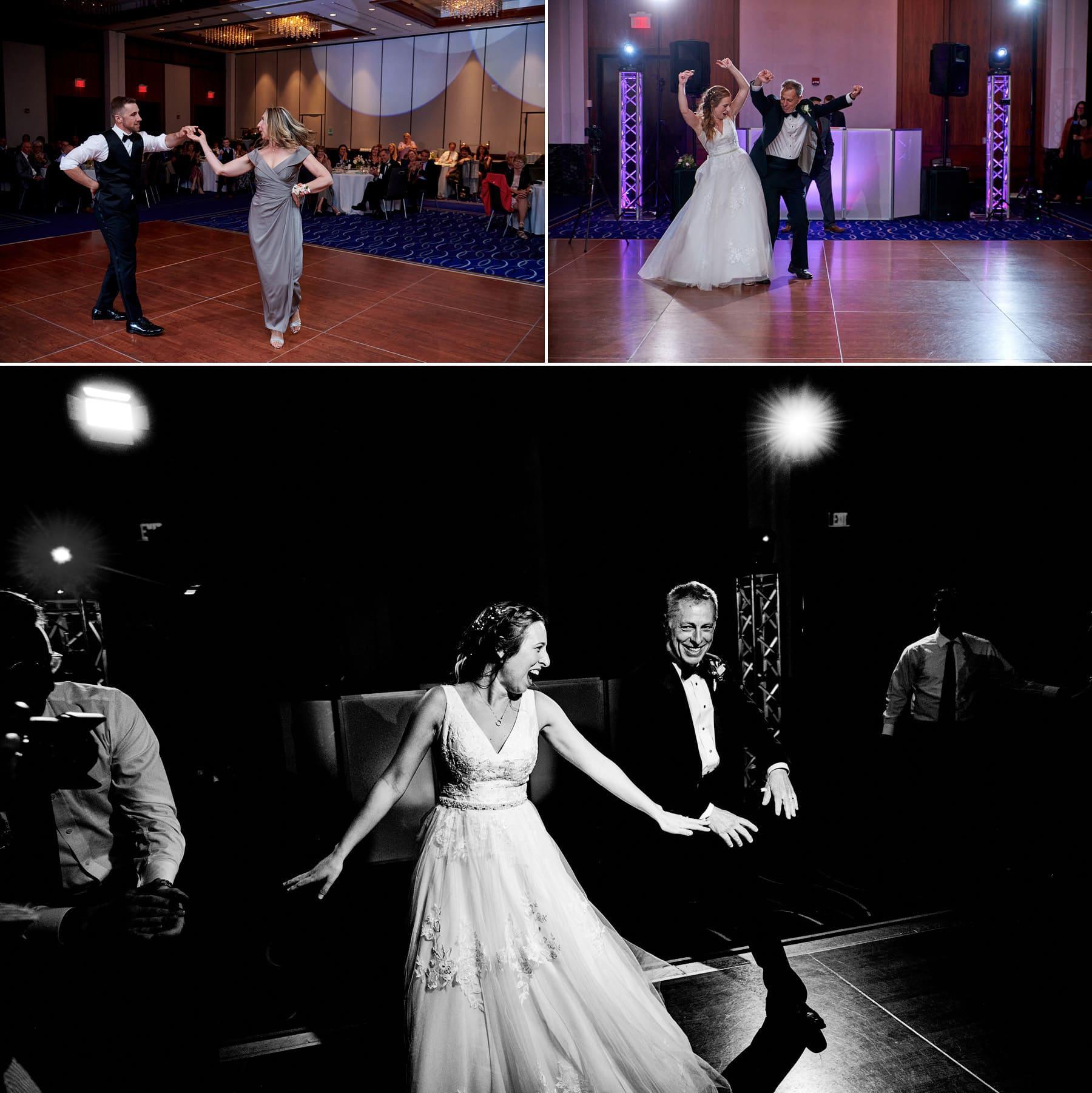 wedding parent dances at hyatt new brunswick