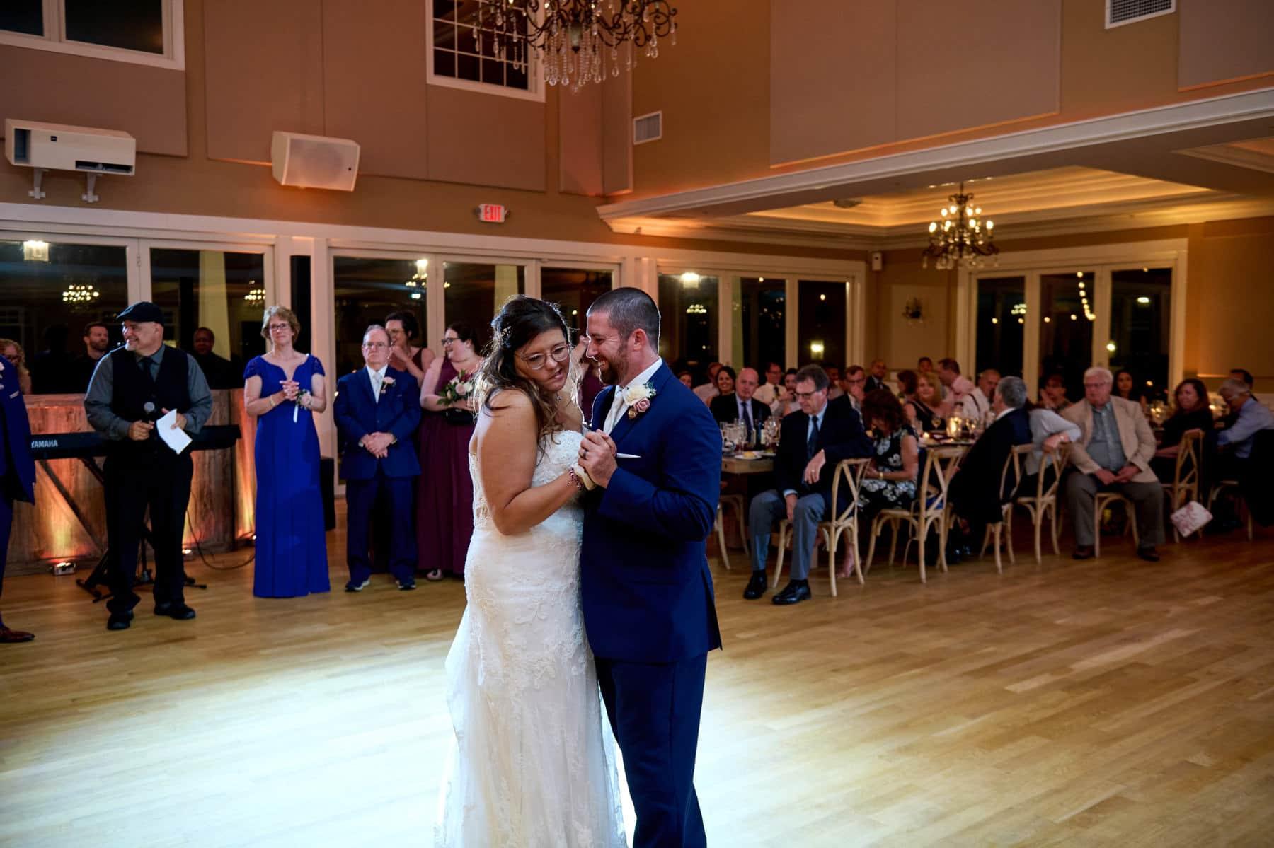 first wedding dance at bear brook valley