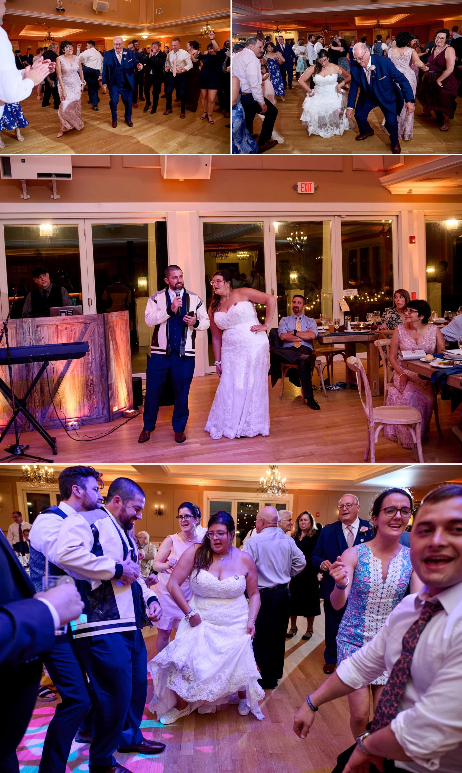 bear brook valley wedding dance floor
