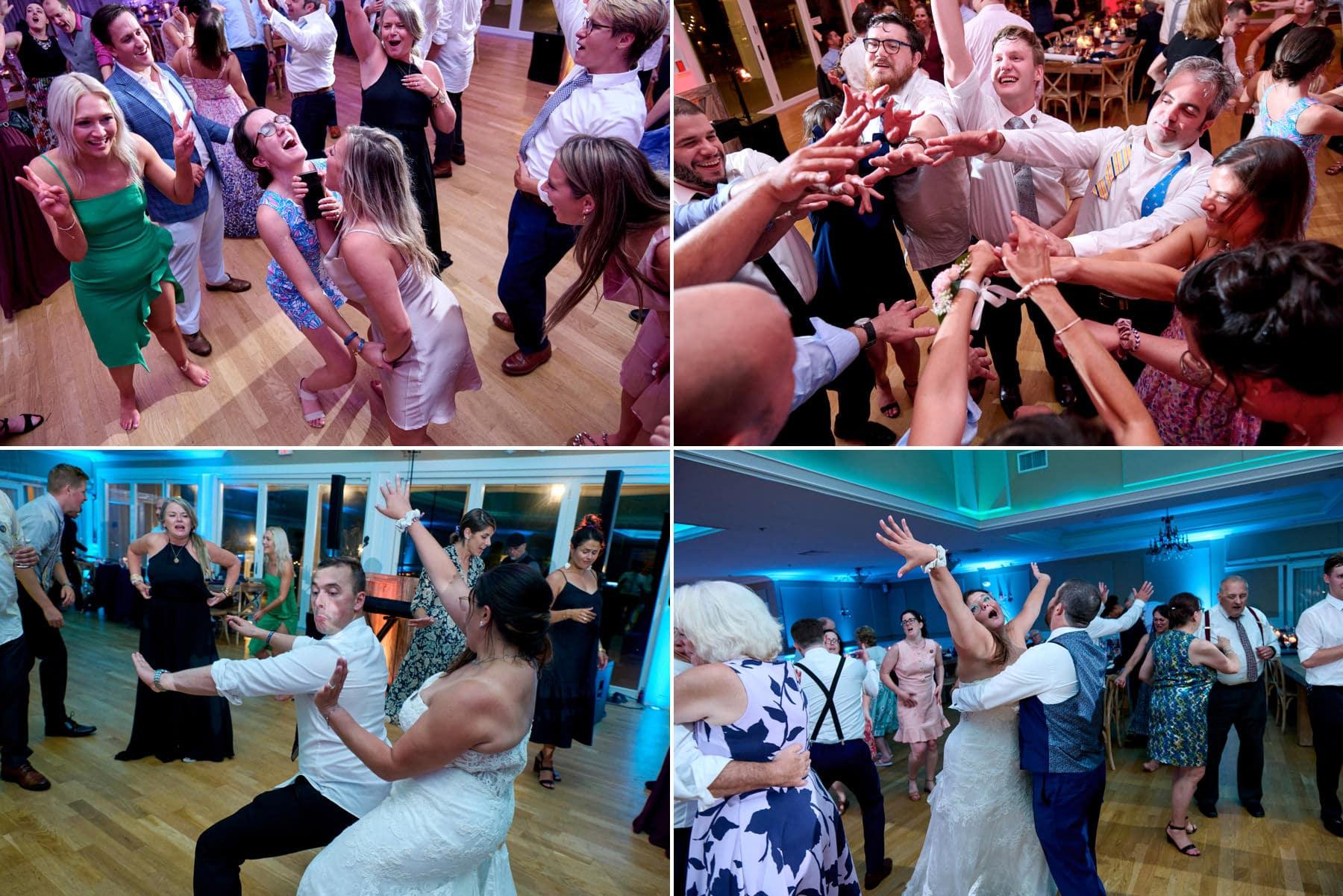 bear brook valley wedding dancing photos