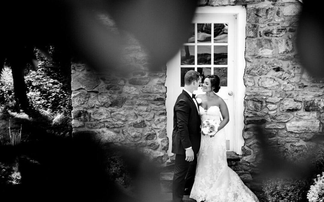 The Farmhouse Weddings | Christina + Cap