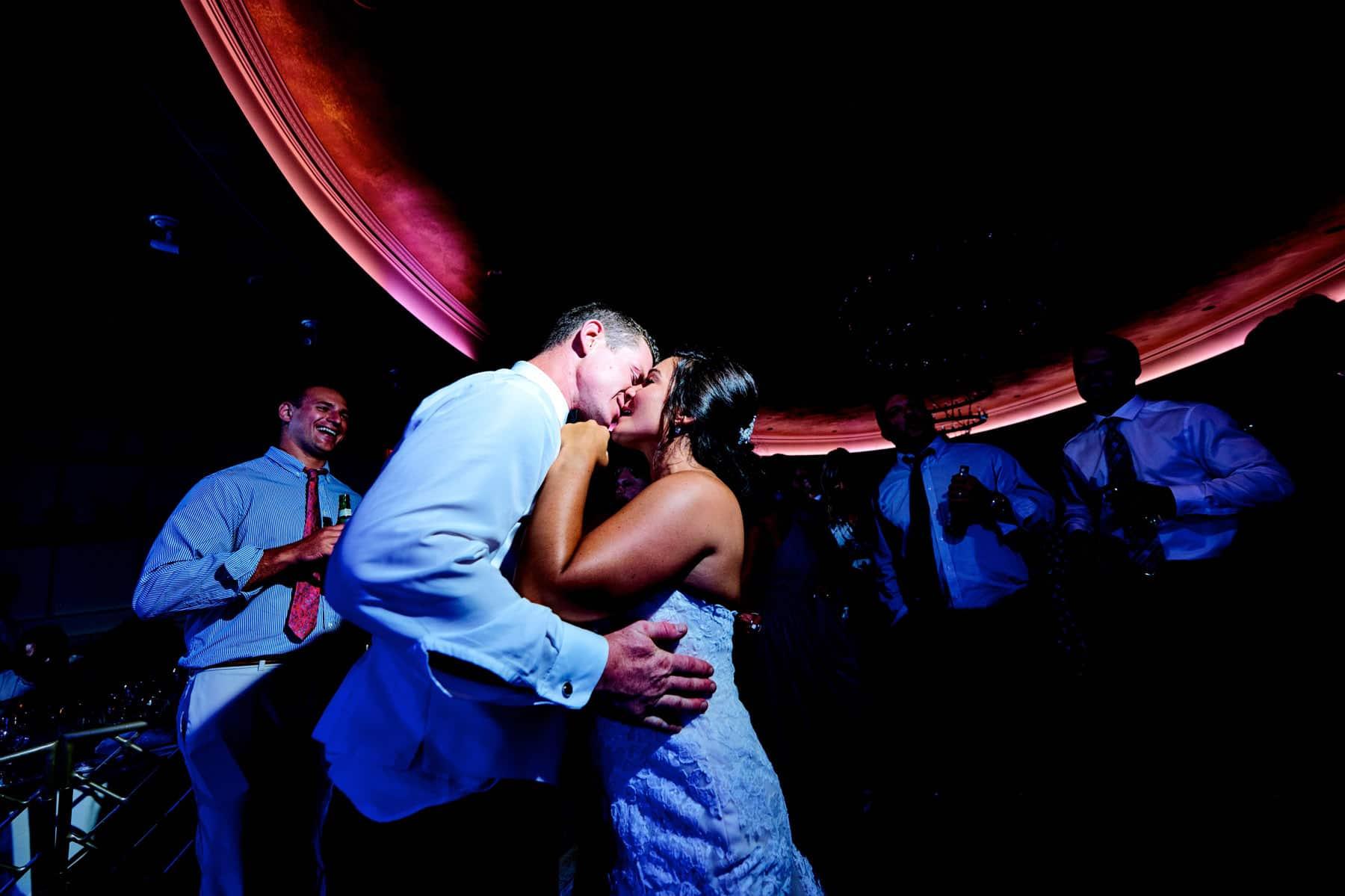 wedding dance floor photo at The Farmhouse